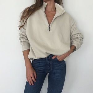 [Vintage] Tommy Bahama quarter-zip sweater
